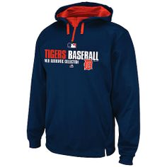 Detroit Tigers Authentic Collection Team Favorite Hooded Fleece by Majestic Athletic  - MLB.com Shop