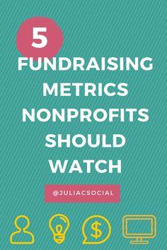 From @juliagulia77: 5 Fundraising Metrics Nonprofits Should Watch