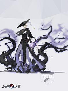 Female Character Design, Character Design Inspiration, Game Character, Character Concept, Concept Art, Manga Art, Anime Art, Witch Characters, Goth Art