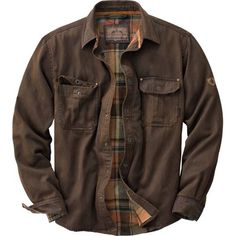 Men's Journeyman Rugged Shirt Jacket at Legendary Whitetails