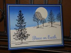 lovely as a tree   Peace on Earth by megala3178 - Cards and Paper Crafts at Splitcoaststampers
