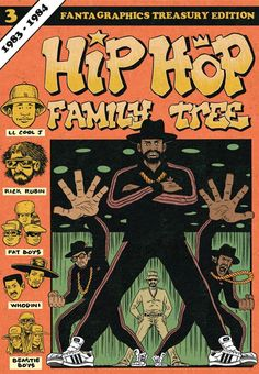 Hip Hop Family Tree Vol. 3 #TPB #Fantagraphics #HipHopFamilyTree Release Date: 8/12/2015
