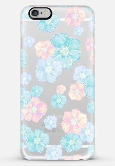 Blossoms Pastel (transparent) iPhone 6 Plus case by Lisa Argyropoulos | Casetify Get $10 off and free shipping with code H5E5FU
