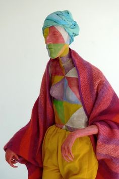 Sculpture by Francis Upritchard  via Ivan Anthony Gallery