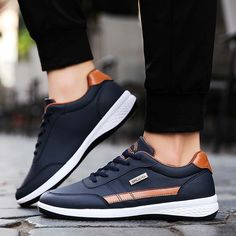 Fashion Men Sneakers Walking Casual Shoes Soft Bottom Comfortable Lace Up Running Shoes for Men Waterproof Wild platform shoes, #men #menshoes #sneaker #boot #menfashion #MensBoots #MensCasualShoes #CasualShoes #Loafers #Oxfords Men Sneakers, Slip On Sneakers, Casual Sneakers, Sneakers Fashion, Casual Shoes, Fashion Shoes, Shoes Men, Men's Shoes, Jogging