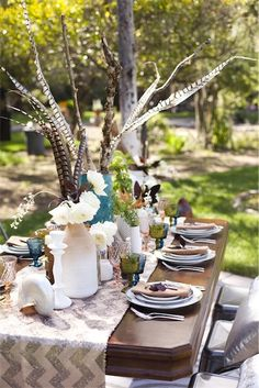 I would use something different for the centerpiece