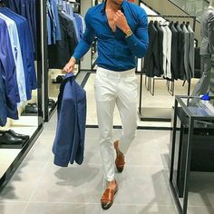Ideas Sport Style Street New Balance For 2019 Formal Men Outfit, Casual Wear For Men, Formal Dresses For Men, Gentleman Mode, Gentleman Style, Dapper Gentleman, Urban Fashion, Trendy Fashion, Men's Fashion