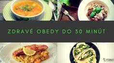 Vymeň mrazené rybie prsty, či sáčkové polievky za zdravé obedy, ktoré si jednoducho pripravíš sama doma do 30 minút. Prinášame ti až 24 inšpirácií. ;-) No Sugar Foods, Chana Masala, Food And Drink, Beef, Breakfast, Healthy, Ethnic Recipes, Fit, Meat
