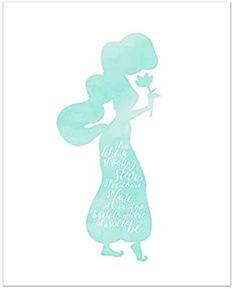 Princess Jasmine Quotes, Disney Princess Silhouette, Aladdin Movie, Disney Princess Jasmine, Photo Print, Posters, Poster Prints, Disney Shirts, Disney Wallpaper