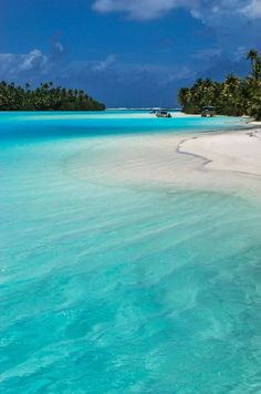 Aitutaki, Cook Islands  #tropical #island #vacation $beach