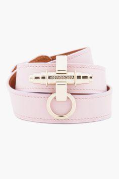 Givenchy // Pink Triple Wrap Obsedia Bracelet