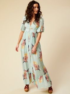 Altar d State Paradise Maxi Dress - Dresses - Apparel cf011ec32