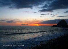 Sunset at Pacific Coast Highway near Point Magu, California $27.99