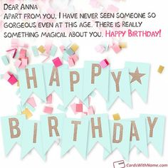 Superb 53 Best Happy Birthday Wishes Card With Name Maker Images In 2020 Funny Birthday Cards Online Elaedamsfinfo