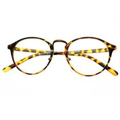 7bdc4800b671 Clear Lens Vintage Retro Fashion Designer Inspired Style Round Circle Eye  Glasses (Tortoise) - Safety Glasses - Amazon.com