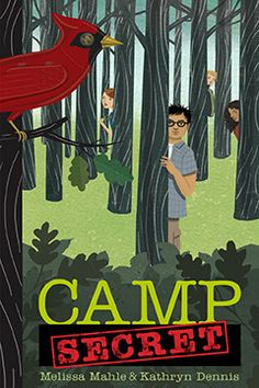 """2014 Moonbeam Medalist - Pre-Teen Fiction, Mystery. """"Under the cover of a deceptively normal summer camp, a select group of recruits face weeks of training, mind games and betrayal in a top secret Junior Spy program."""""""