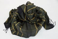Kybele Herbal Silk Scarf - Forest Khaki Fashion Backpack, Herbalism, Hand Weaving, Silk, Stuff To Buy, Color, Herbal Medicine, Hand Knitting, Colour