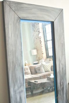 DIY Ikea Hack : Mongstad Mirror Makeover - | Mirror makeover, Floor ...