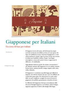 Corso di giapponese per italiani lezione 1