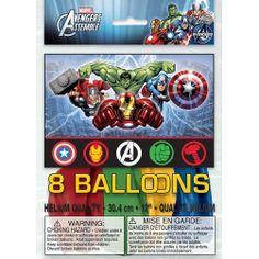 Marvel's Avengers Latex Balloons [8 Per Package] | 30333870 | $3.99