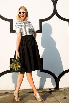 8a8c6f469c5 Water Resistant Daikanyama Skirt Black | Pregnancy & Nursing Wear | Mayarya