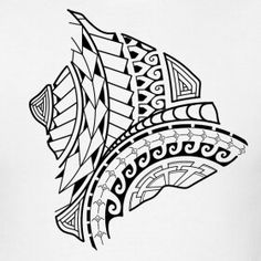 Tribal pattern of the island Polynesian Tribal Tattoos, Tribal Arm Tattoos, Polynesian Tattoo Designs, Maori Tattoo Designs, Maori Tattoo Patterns, Maori Tattoo Meanings, Totem Tattoo, Tiki Tattoo, Maori Tattoo Arm
