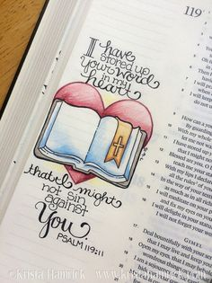 VERSE OF THE DAY AUGUST.30,2015                                       Psalm 119:11 WE ♡ U FATHER GOD AMEN THANK YOU JESUS XOXO =)