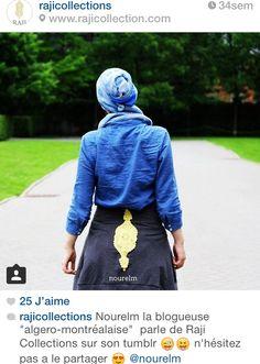 Blogueuse Canadienne Nourelm porte le hoodie Rajicollections
