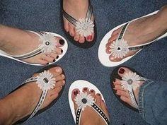 Decorate Flip Flop Craft Ideas | Decorated Flip Flops