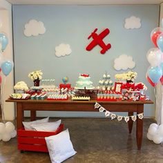 Festa avião. Airplane party. #buffetconteoutravez
