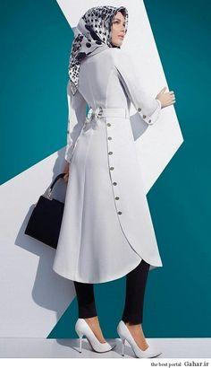 White- Beyaz White - White- Beyaz W… – Hijab Fashion 2020 Islamic Fashion, Muslim Fashion, Modest Fashion, Hijab Fashion, Fashion Outfits, Womens Fashion, Modest Outfits, Kurta Designs, Hijab Outfit