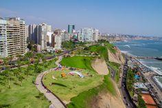 The Costa Verde (Green Coast) of Miraflores, Lima, Peru. #lima #peru