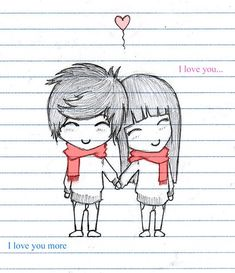 boys and girls love draw - Google Search