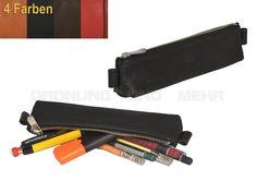 Sonnenleder KAFKA - kleines Stiftetui Leder Stiftbox Schlamper - 4 Farben