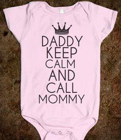 DADDY KEEP CALM