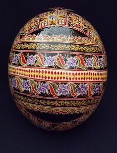 Ostrich pysanka from romanian_hand_crafted, eBay