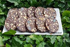 Biscuit salami (old recipe, step by step)