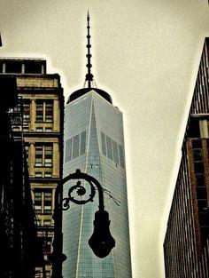 One World Trade Center, from Fulton Street | ©2014 Eric K. Washington