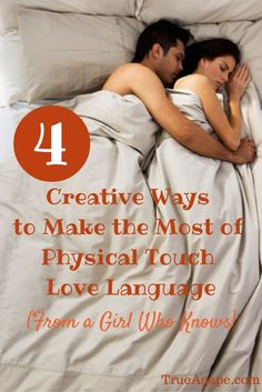 4 creative ways to make the most out of physical touch