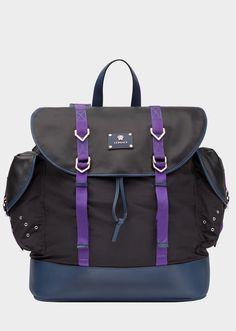 Versace Energy Nylon Backpack for Women  0e79aec939d8c