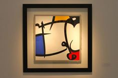 Mondrian, Caligraphy, Candle Sconces, Wall Lights, Candles, Frame, Artwork, Projects, Painting