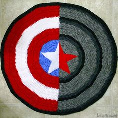 Captain America / Winter Soldier Blanket by KearaCreations on Etsy, $45.00