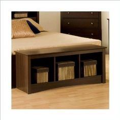 Storage bench for bedroom? (right wall)