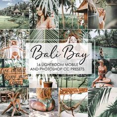 Discover Bali Bay Lightroom Presets inspired by Indonesian island green and aqua colors. These presets are designed specifically.