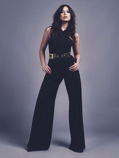 Daisy Lowe - black AQ/AQ jumpsuit