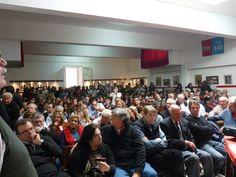 Ejecutivo ampliado de Vamos Uruguay en Soriano, colmado de gente que apuesta a un mejor país.