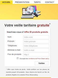 @PObservatory lance la première offre gratuite de veille tarifaire !   http://www.price-observatory.com/?utm_campaign=RSVG&utm_medium=e-mail&utm_source=website … #ecommerce #veilleprix