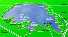 Lake Hefner-Near NW 63rd and Portland. Great trails for jogging. Nice restaurants. Kayaking, sailing, fishing. Golf course