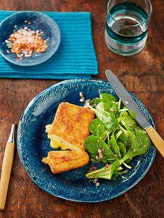 Vickys Tofu Cordon bleu - ein tolles vegetarisches Gericht