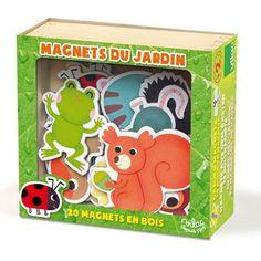 #Magneten Jardin - #Vilac #magnets #toys #kids #sint #sinterklaas #kerstmis #kerst #xmas #littlethingz